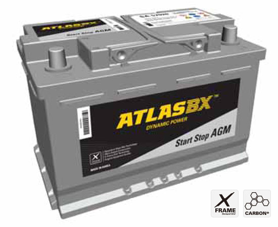 AtlasBX AGM Battery /Start & Stop